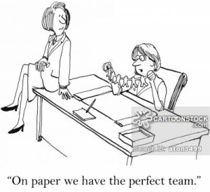 'On paper we have the perfect team.'