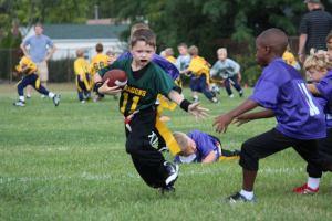 Drew football pic